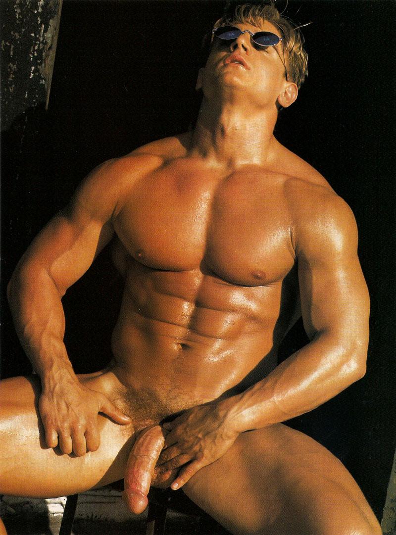 Hombre Desnudo Ense Ando La Polla